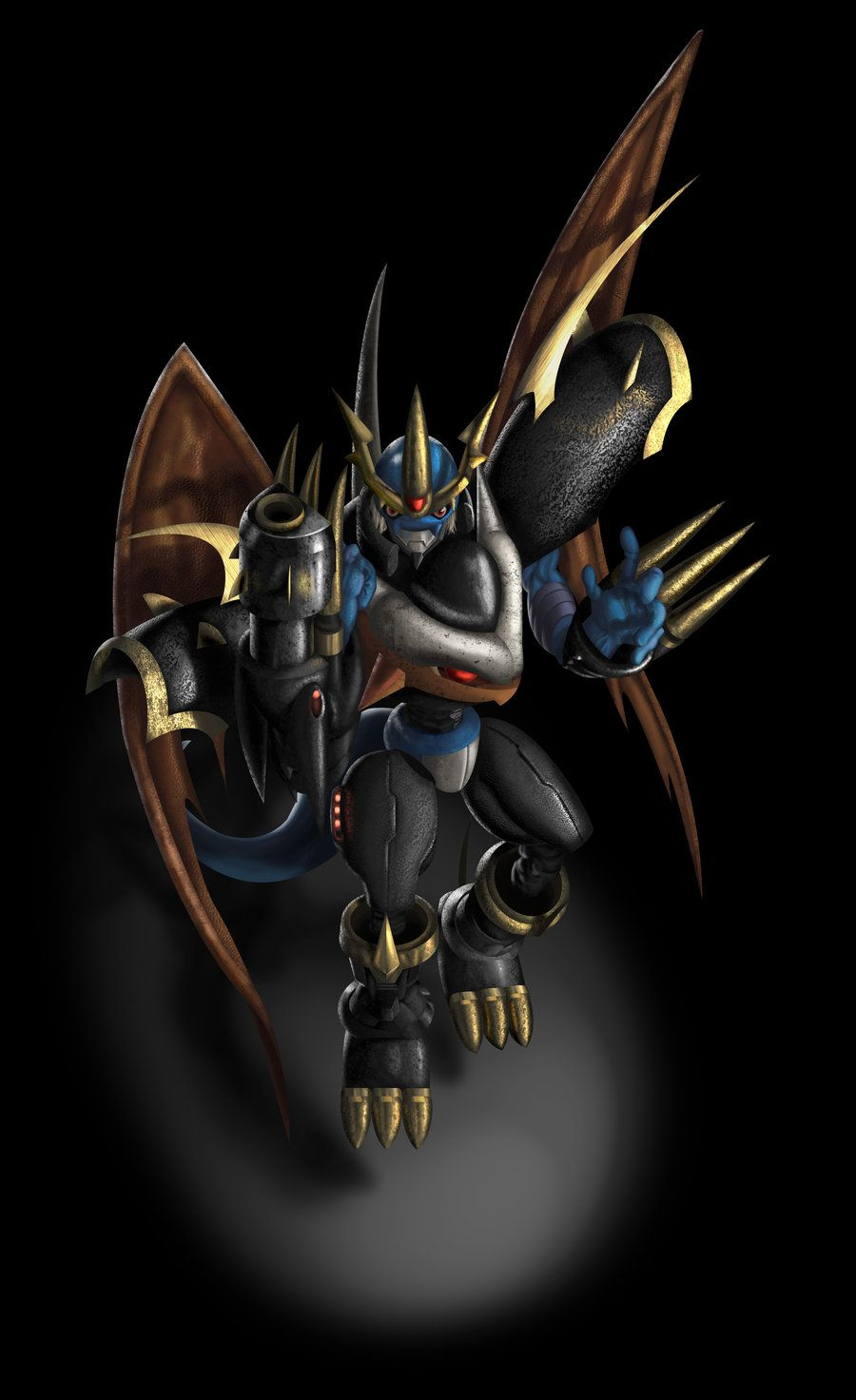 Imperialdramon: Fighter Mode by *Mearns on deviantART ...