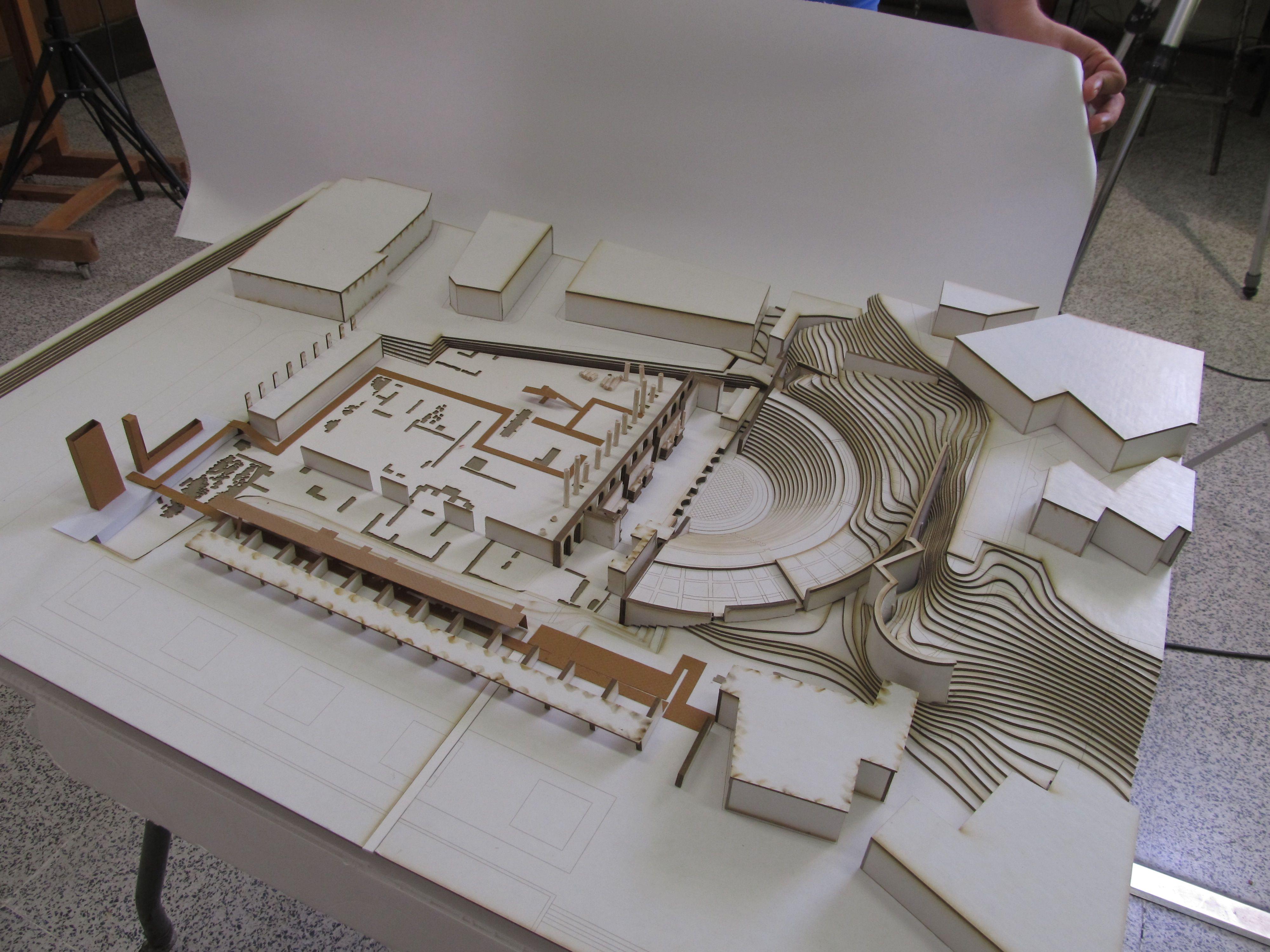 Escuela t cnica superior de arquitectura de sevilla maqueta fin de carrera maquetas de - Escuela tecnica superior de arquitectura sevilla ...