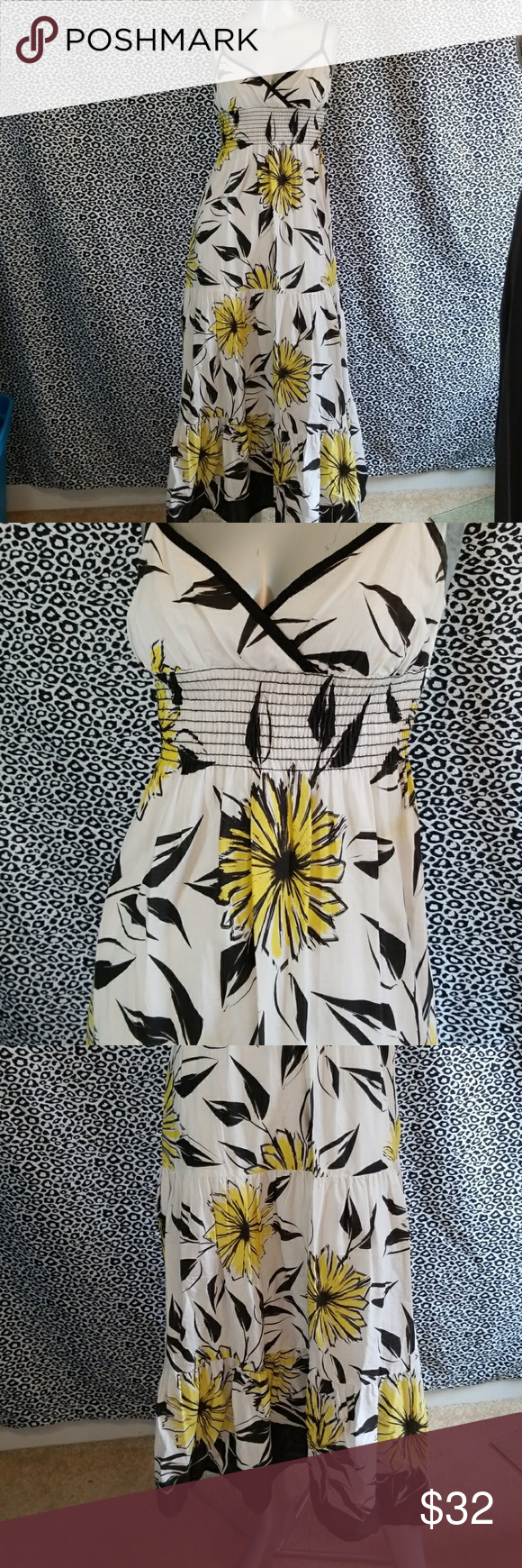 Bisou bisou sunflower maxi my posh picks pinterest fashion