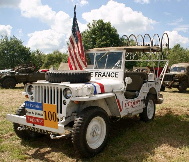 Tour De France Jeep Real Flickr Auto
