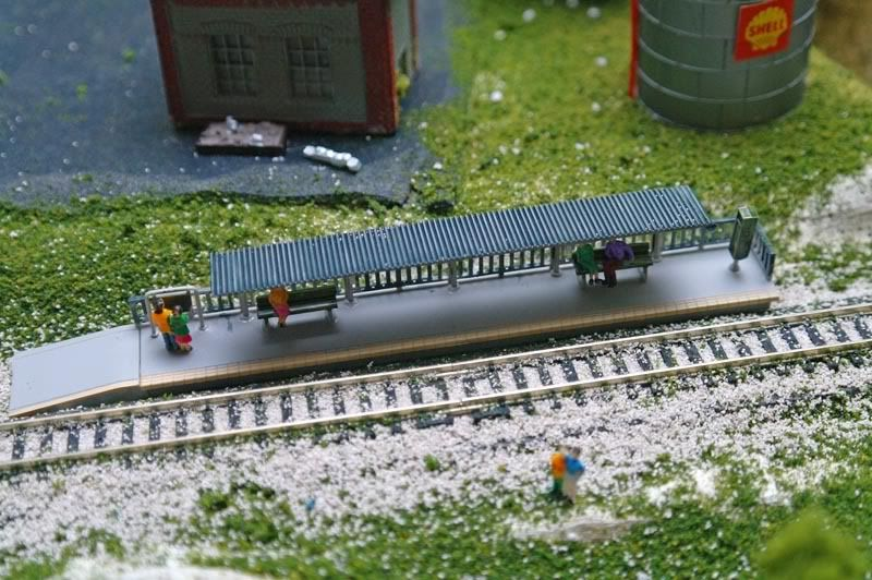 Another hobby of mine, N scale train diorama  (Picture heavy