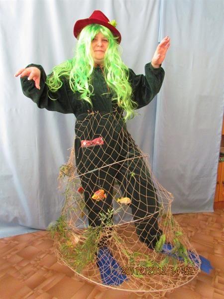 костюм водяного своими руками фото