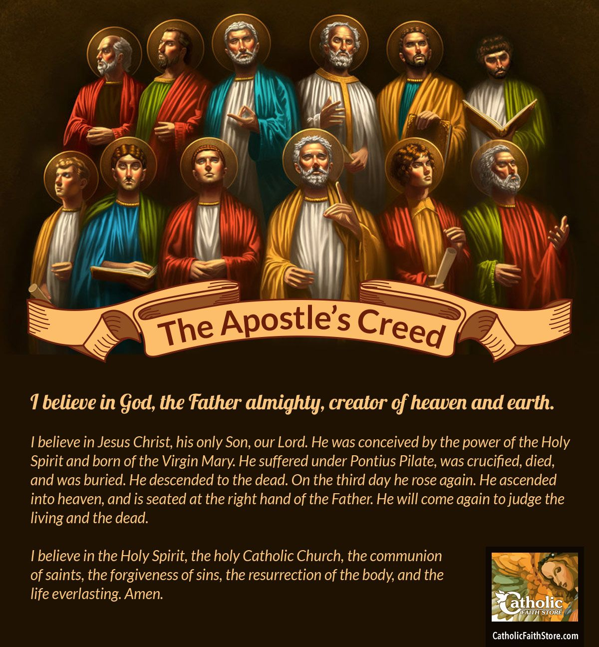 The Word Creed Comes From The Latin Word Credo Meaning To Believe