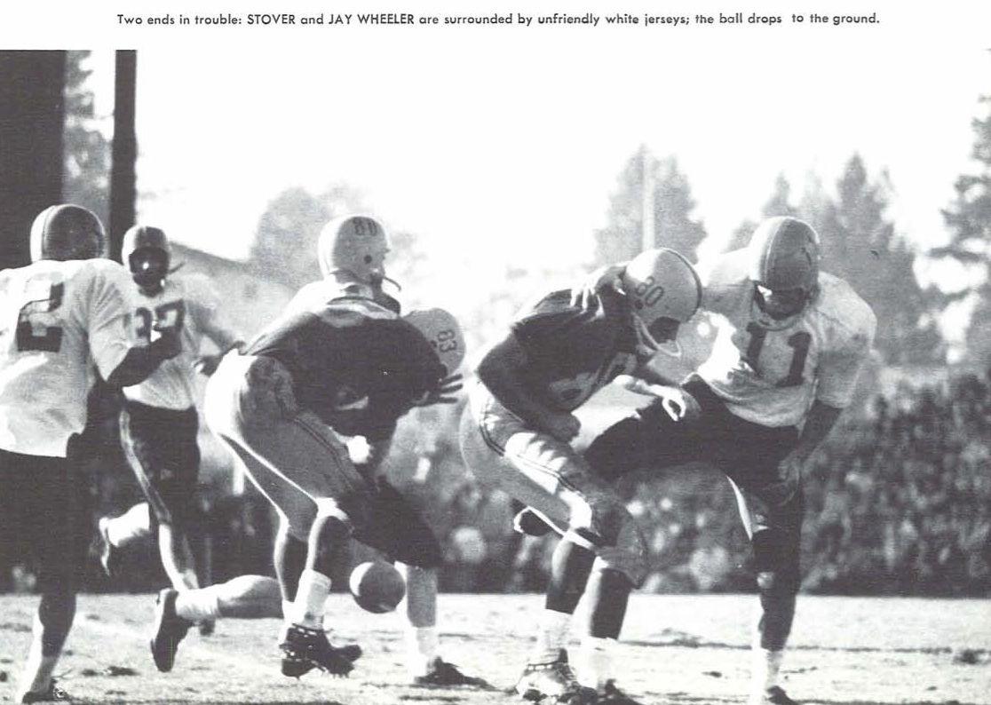 1957 Civil War Football Game Oregon State Oregon From The 1958 Oregana University Of Oregon Yearbook Www Campus University Of Oregon History Oregon State
