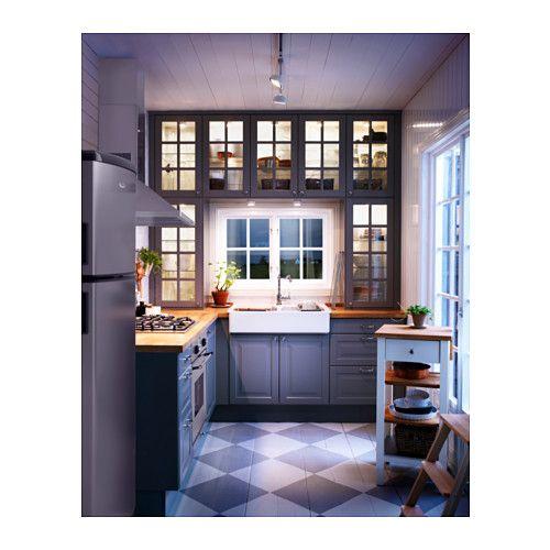 DOMSJÖ Spüle mit 2 Becken - IKEA Küche planung Pinterest - k chenzeile mit elektroger ten ikea