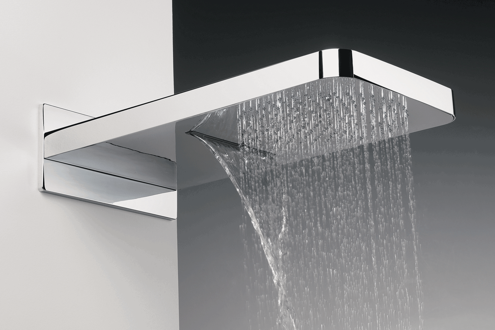 U K With Grohe With Images Waterfall Features Fixed Shower