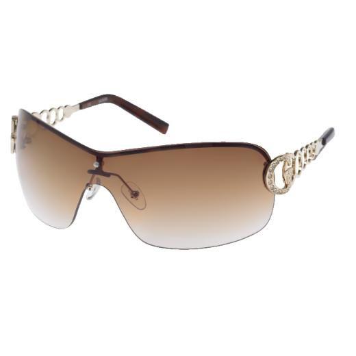 25c7946ca5246 Guess Ladies Sunglasses GU6509 TO-34 Gold Frame