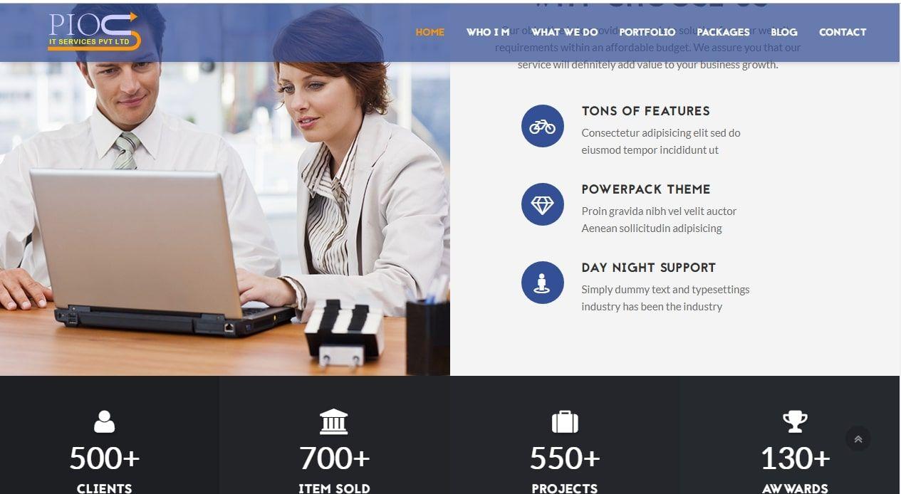 Best Website Design Company In Ghaziabad Pious It Services Pvt Ltd Fun Website Design Web Development Design Website Design