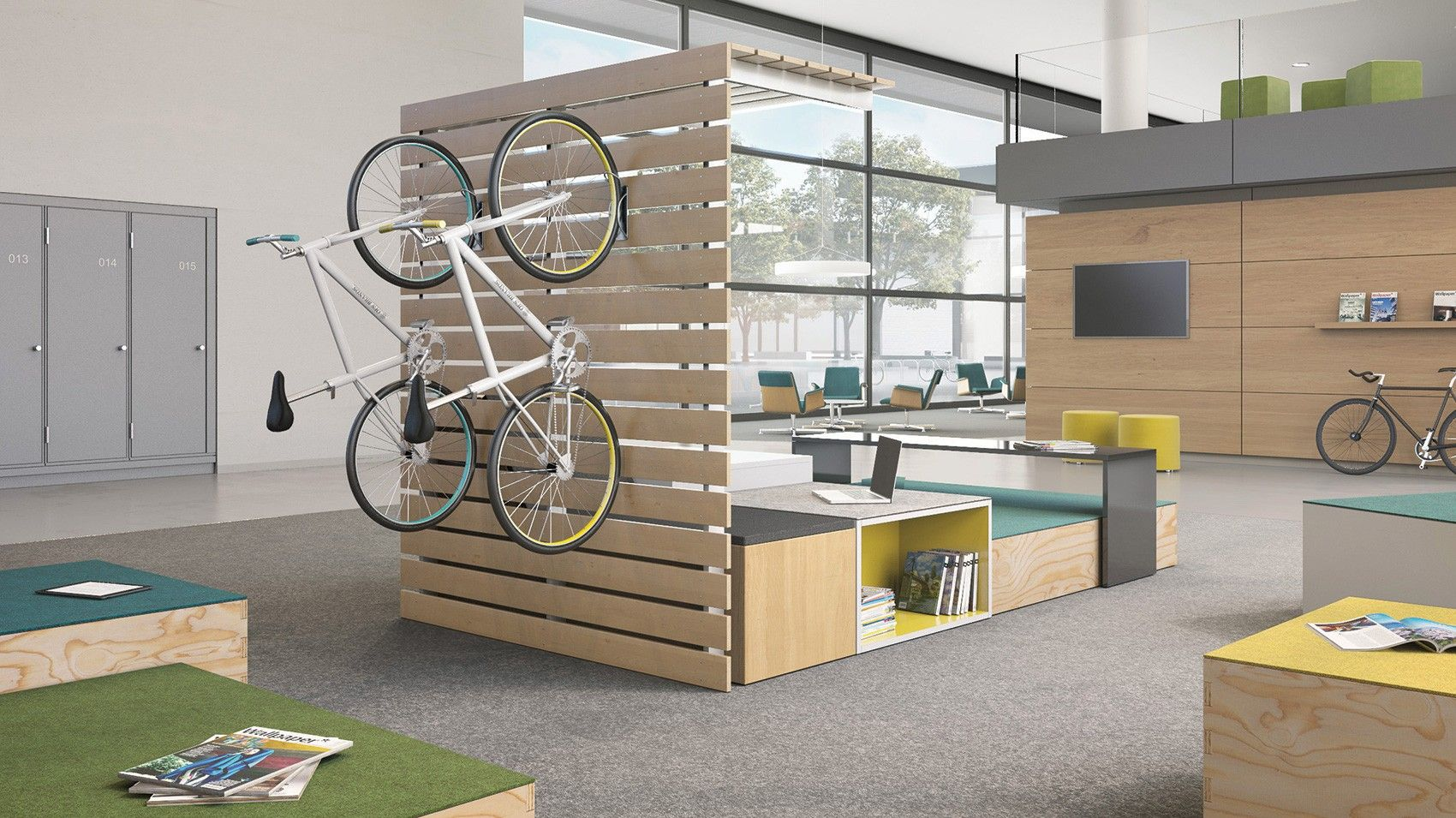 Ofs Brands Breakout Space Multi Level Seating Casual Lounge The Edge By First Office Office