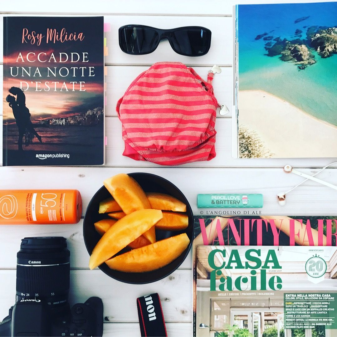 Accadde una notte d'estate di Rosy Milicia  #estate #holiday #vacanze #libri #lettureestive #books #amazonpublishing #rosymilicia