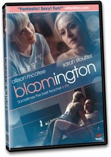 A glossy coming-of-age drama, Bloomington portrays the provocative relationship between a college freshman and her beautiful professor. The lovely Sarah Stouffer and gorgeous Allison McAtee co-star in this steamy lesbian drama.