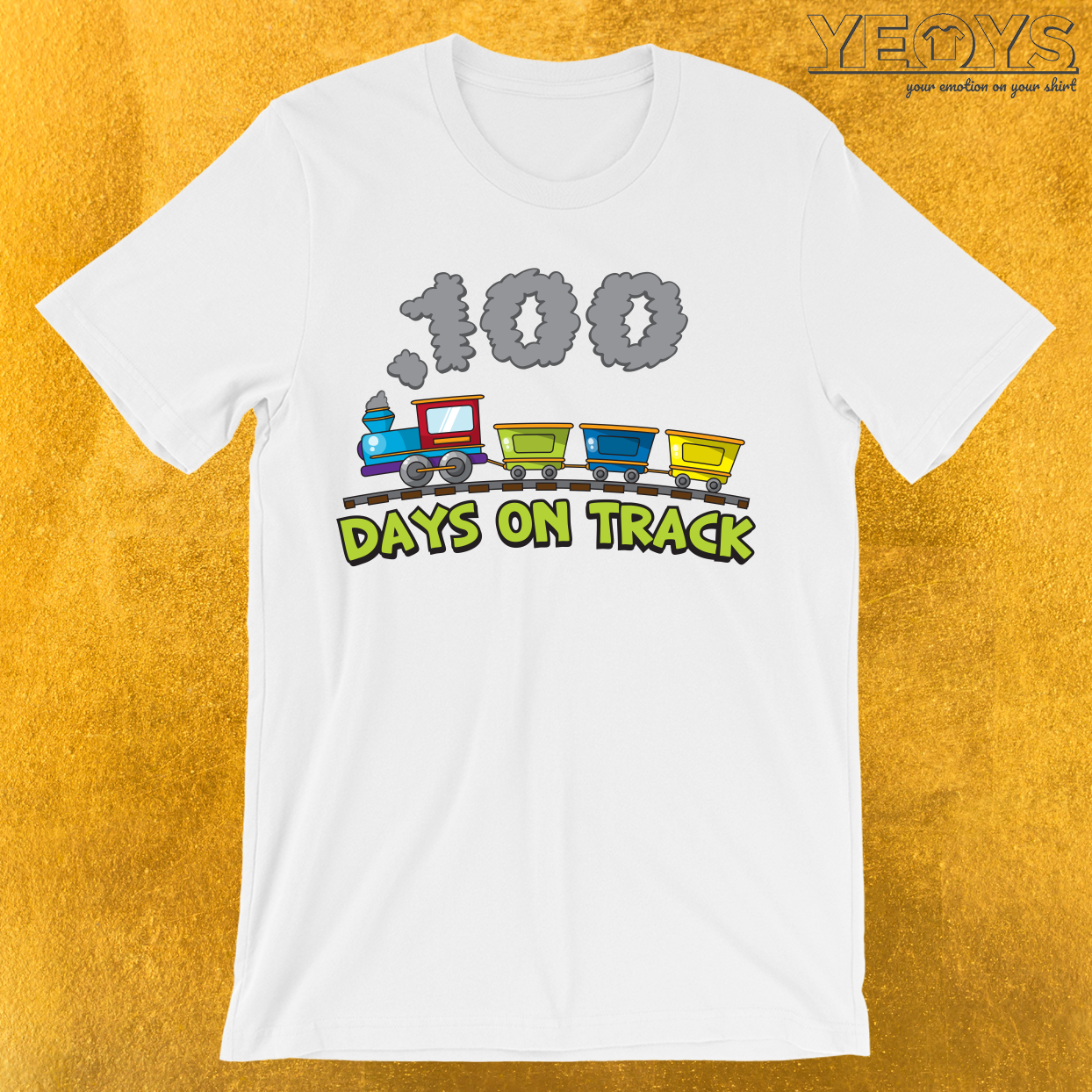 100 Days On Track T Shirt