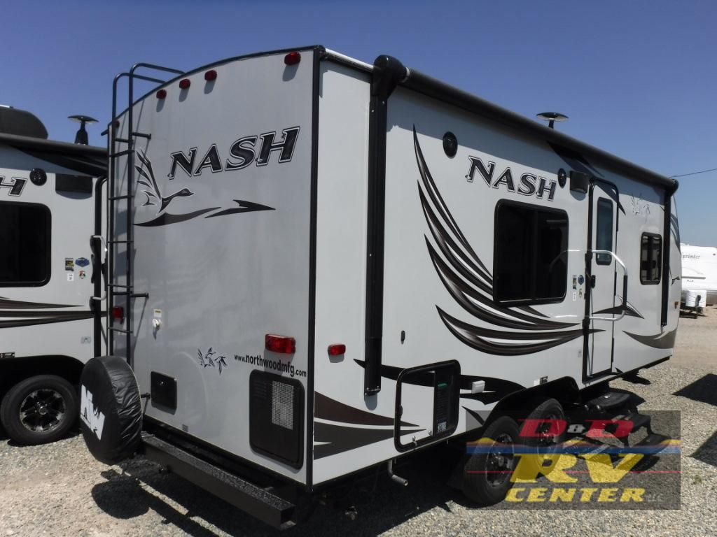 New 2019 Northwood Nash 22h Travel Trailer At D D Rv Center Llc