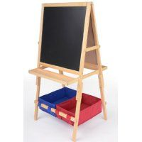 Height-Adjustable Children's Easel wi… | toyscraf