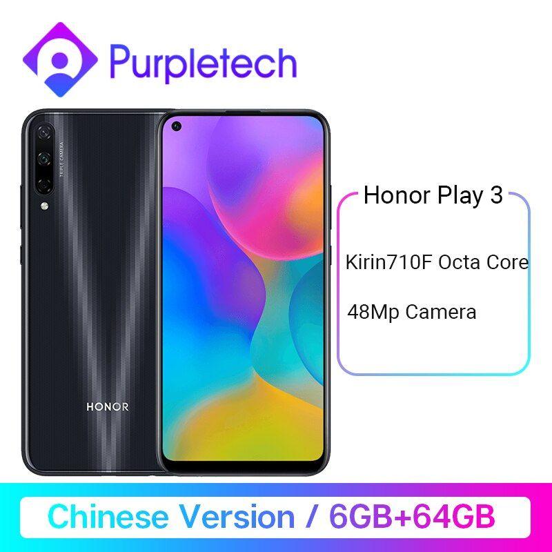 Honor Play 3 6GB 64GB Kirin 710 F Octa Core Smartphone 48MP AI Triple Cameras Deals - PhoneSep.com