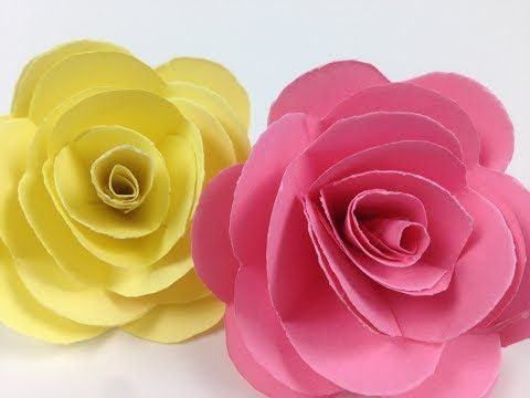 How to make paper roses flower easily easycrafts diy paper how to make paper roses flower easily easycrafts diy paper flowers make your own paper rose mightylinksfo