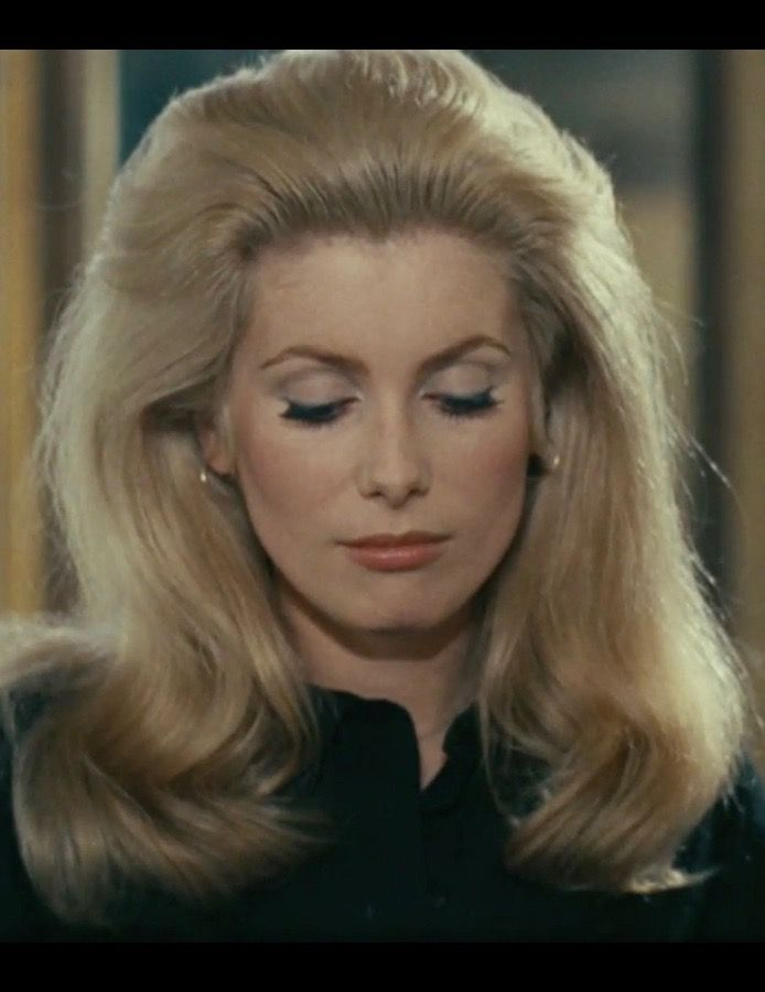 Catherine Deneuve 1960s Make Up Catherine Deneuve Catherine Catherine Denueve