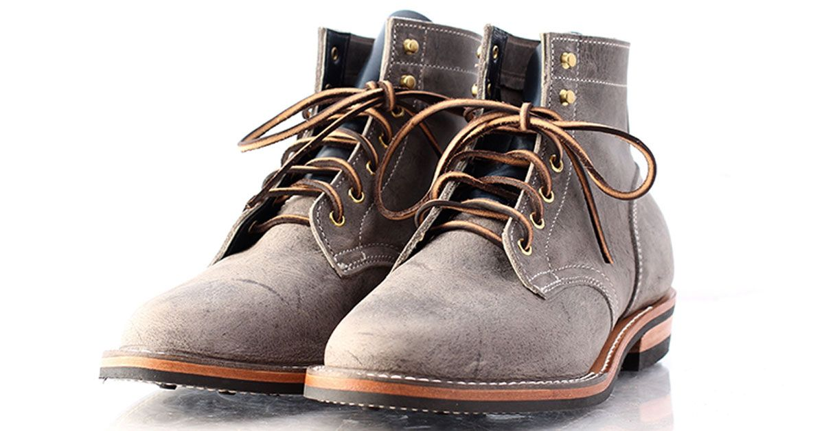 Truman Boot Company Iceberg Kudu Leather Made to Order Boots