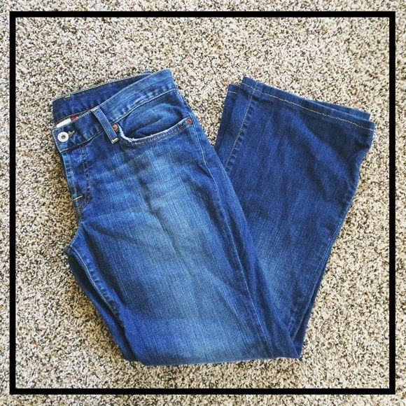 Spotted while shopping on Poshmark: Lucky Brand Blue Flare Jeans! #poshmark #fashion #shopping #style #Lucky Brand #Denim