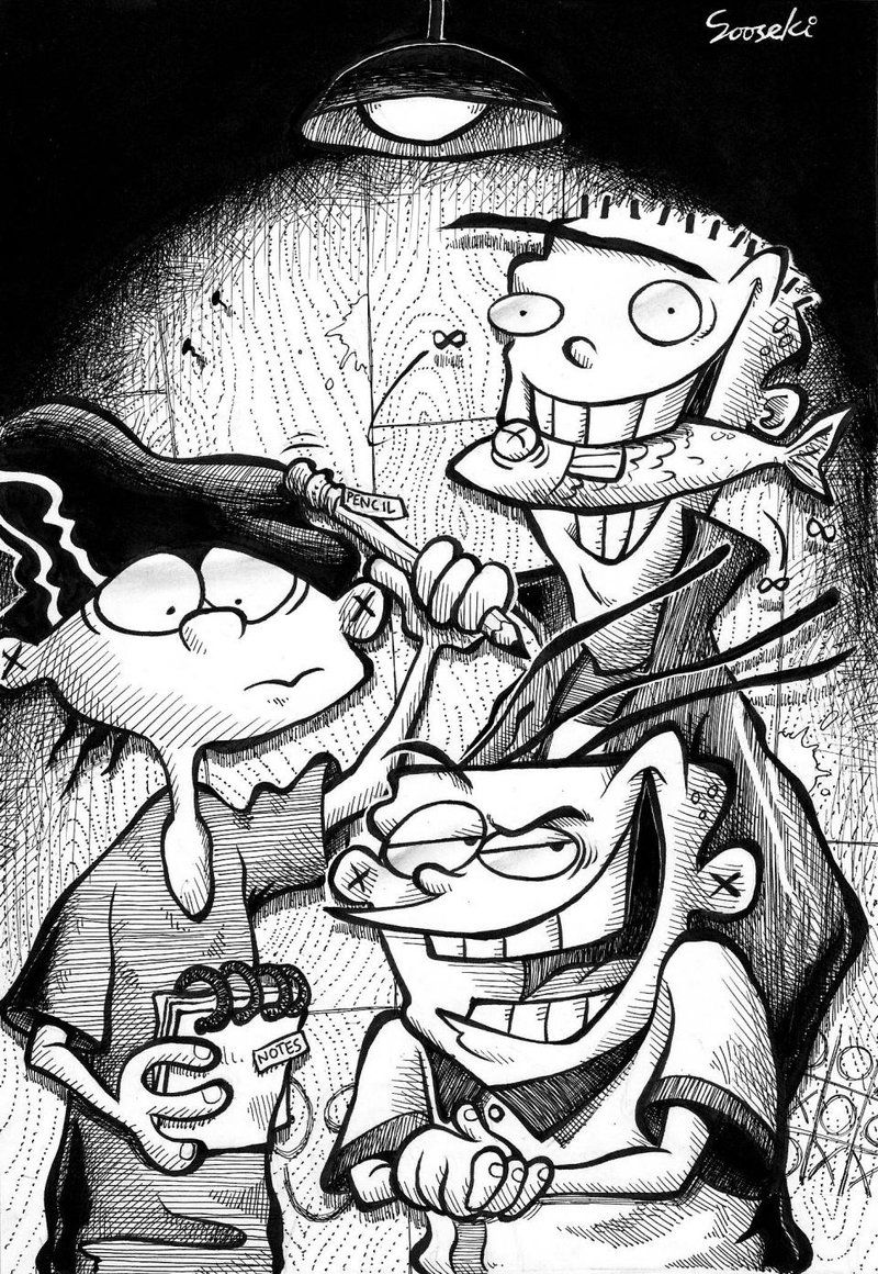 Ed, Edd n Eddy by ssgba1380 | cartoon | Pinterest | Caricaturas ...
