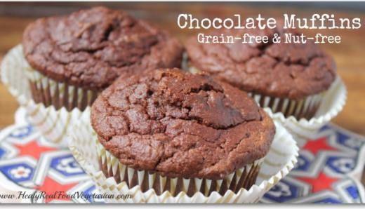Coconut Flour Chocolate Muffin Recipe