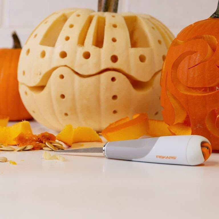 Celebrating National Pumpkin Day By Carving Pumpkins Of Course Planning On Carving This Weekend Our Heavy Duty Detail Knife Pumpkin Carving Pumpkin Carving