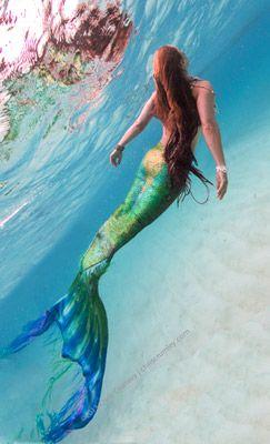 Mermaid inspiration for the girls' tattoo   Mermaid