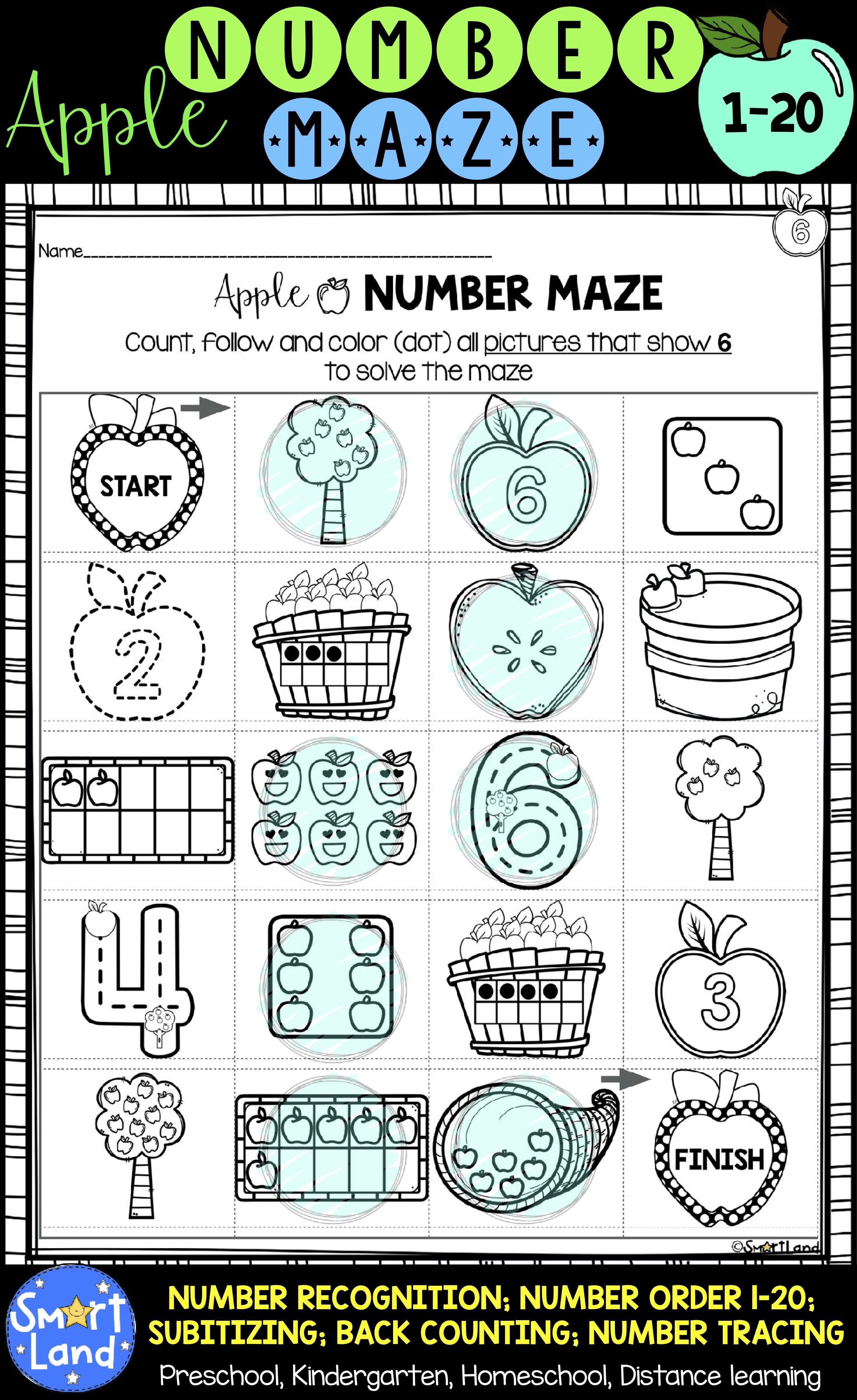 Numbers 1 20 Practice
