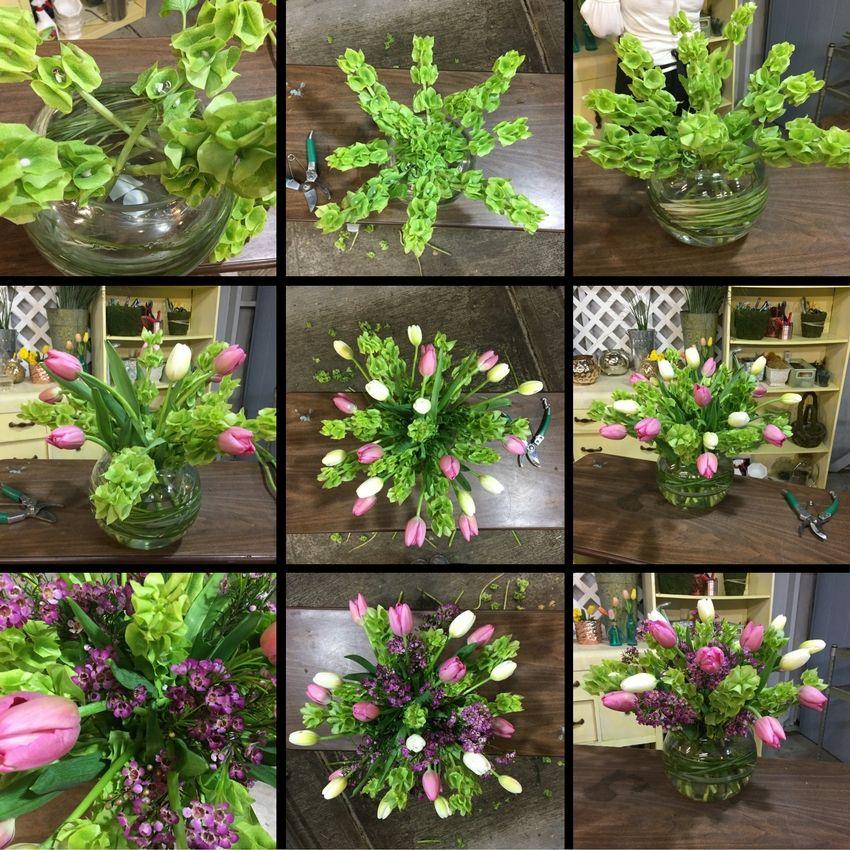 Flower Arrangements El Paso: Como Hacer Un Arreglo Floral Con Tulipanes