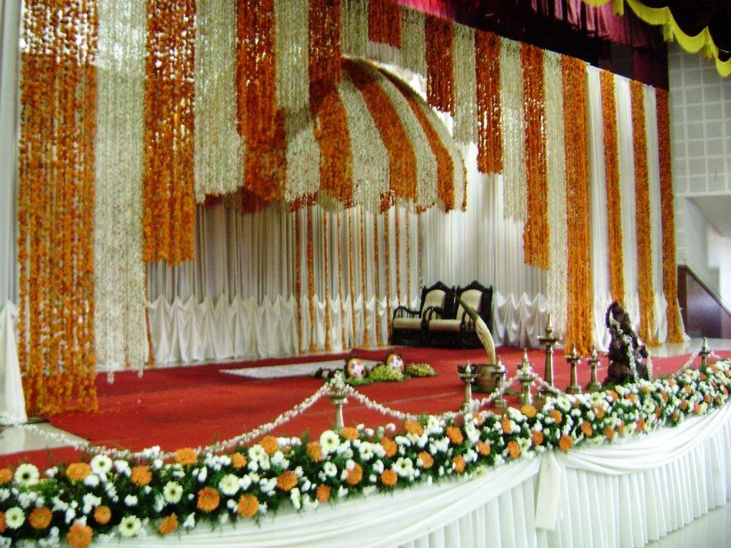Kerala Hindu Wedding Simple Stage Decoration Photos Valoblogi Com