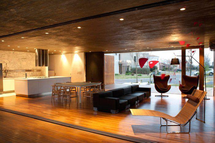 Wohnideen Ess Und Wohnzimmer wohnideen wohnzimmer offener wohnplan küche q