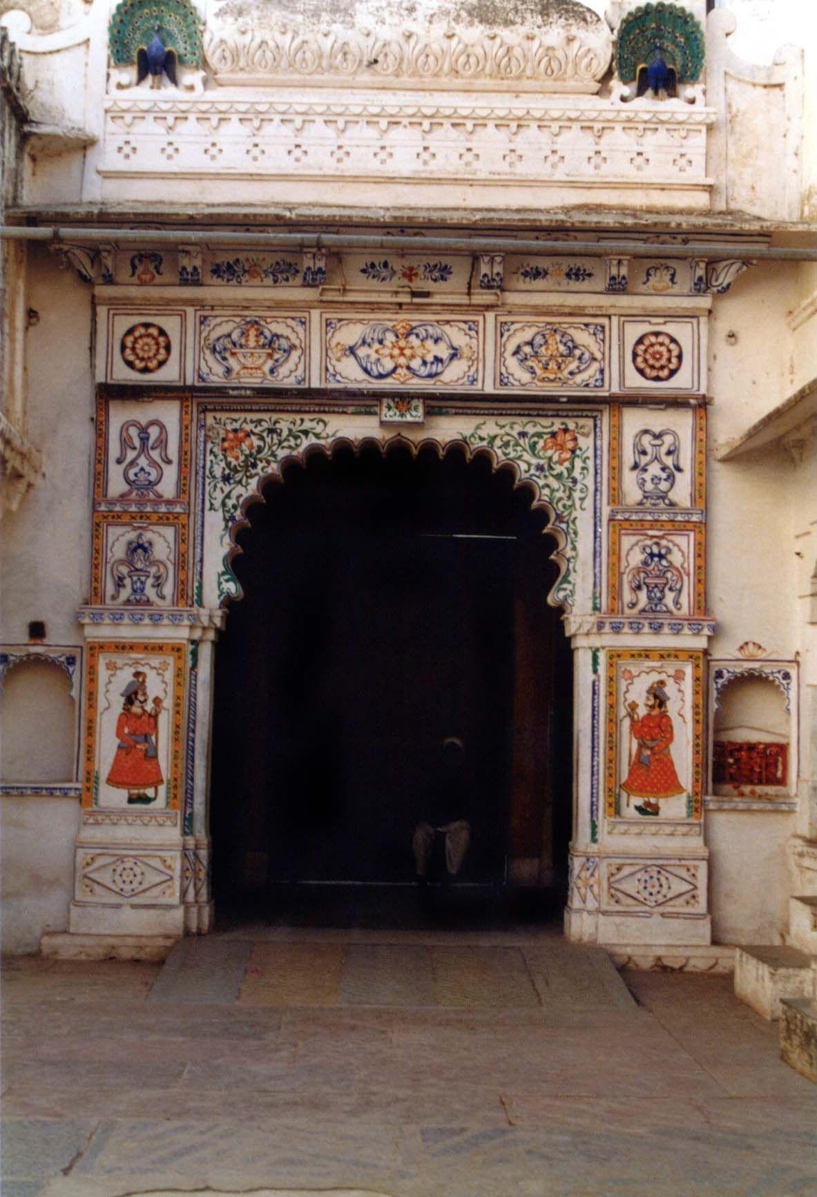 Udaipur doorway, India