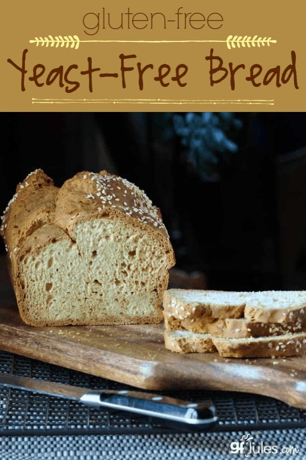 Gluten Free No Yeast Bread Recipe For Sandwiches Gfjules Recipe Yeast Free Breads Gluten Free Yeast Free No Yeast Bread