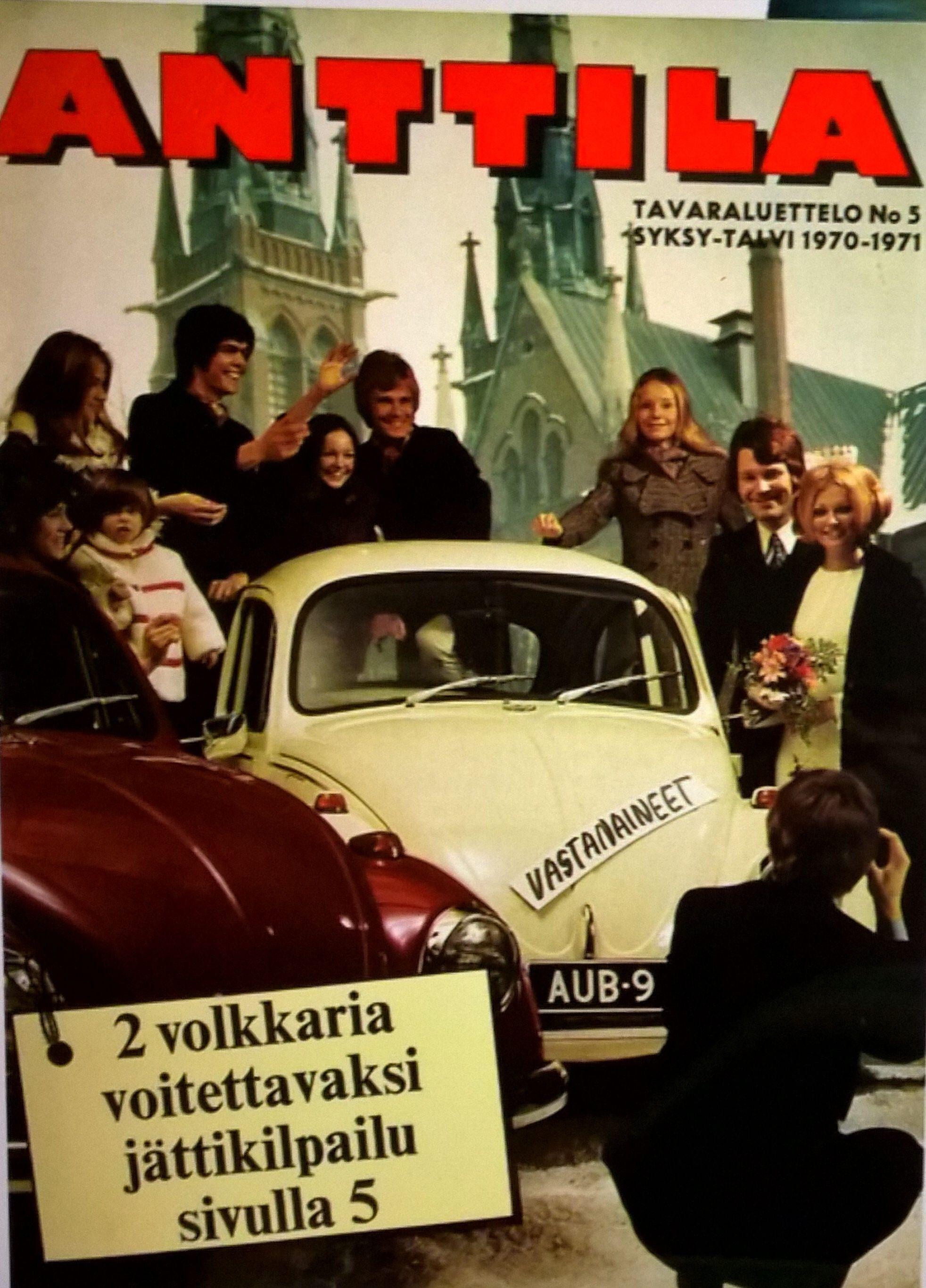 Anttila, tavaraluettelo 1970-1971