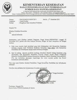 Contoh Surat Dinas Terbenar Dan Terlengkap Surat Tulisan Kebenaran