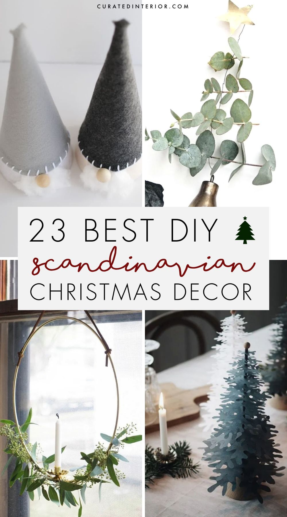 23 Diy Scandinavian Christmas Decorations With Nordic Hygge Vibes Scandinavian Christmas Decorations Nordic Christmas Decorations Scandi Christmas Decorations