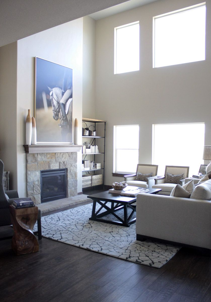 Henry Walker Model Home Interior Design And Furniture By