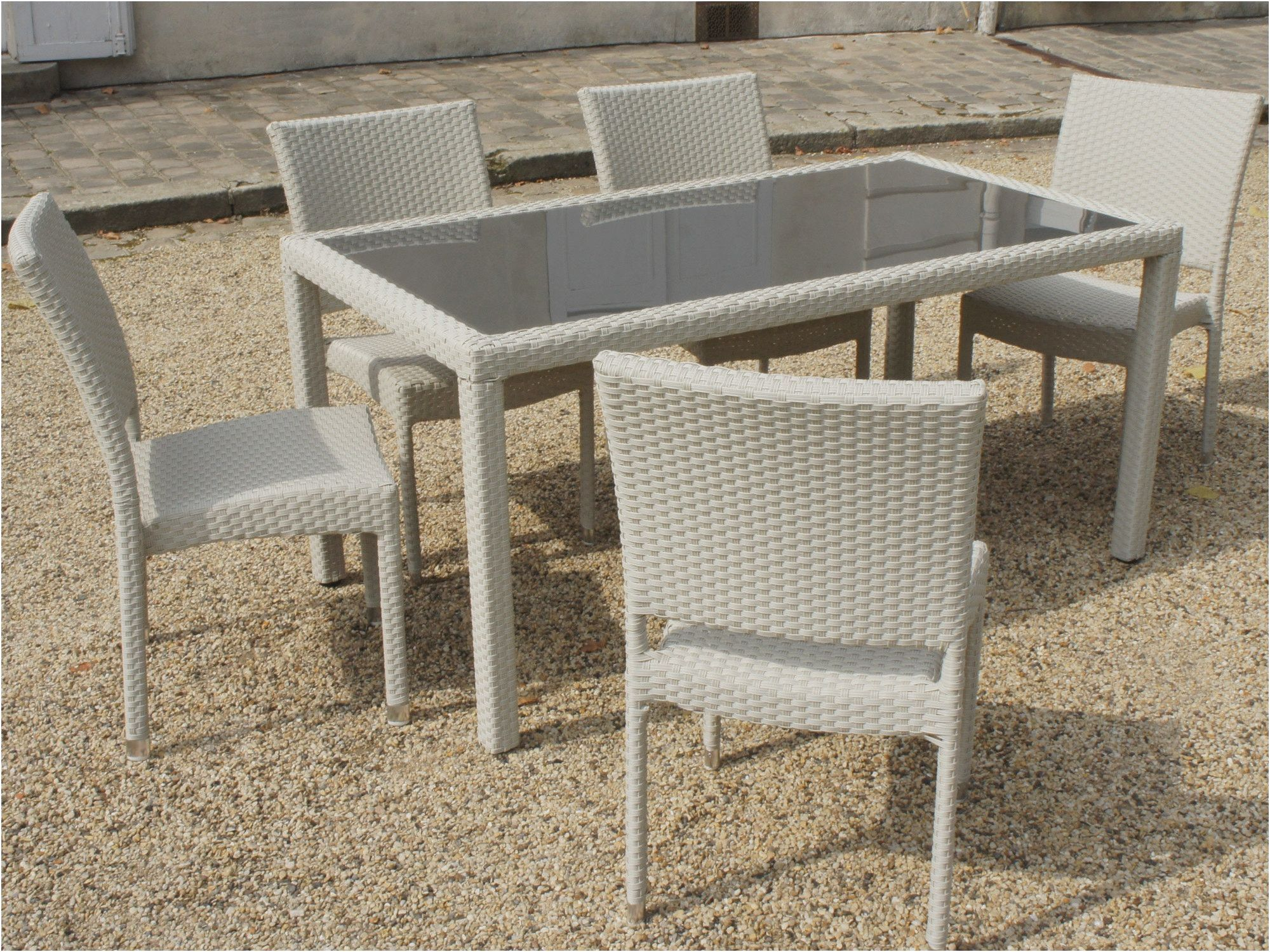 12 Ideal Table De Jardin En Resine Tressee Di 2020