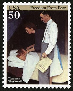 Arago Norman Rockwell Issue Norman Rockwell Rockwell Usa Stamps