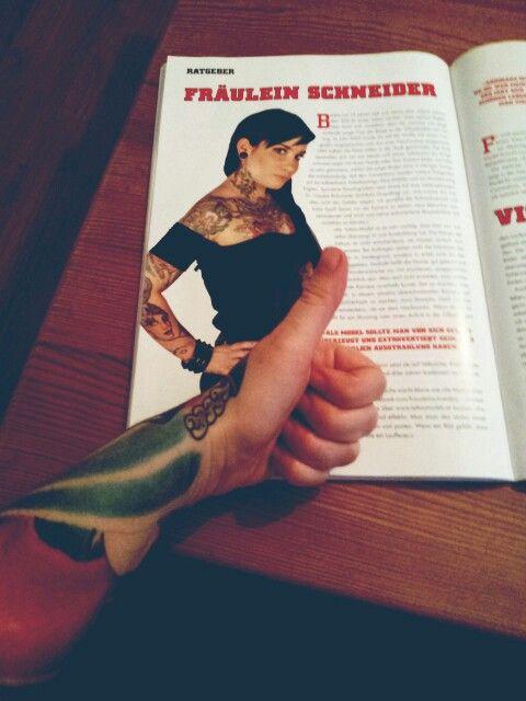 Pin auf Tattoomodel Marie Schneider