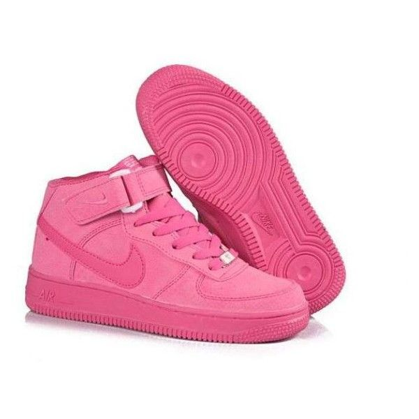 best service 671cf f6d28 NIKE AIR FORCE 1 BUTY ADIDASY ROZOWE ROZMIARY ❤ liked on Polyvore featuring  shoes, nike, sneakers, nike footwear and nike shoes