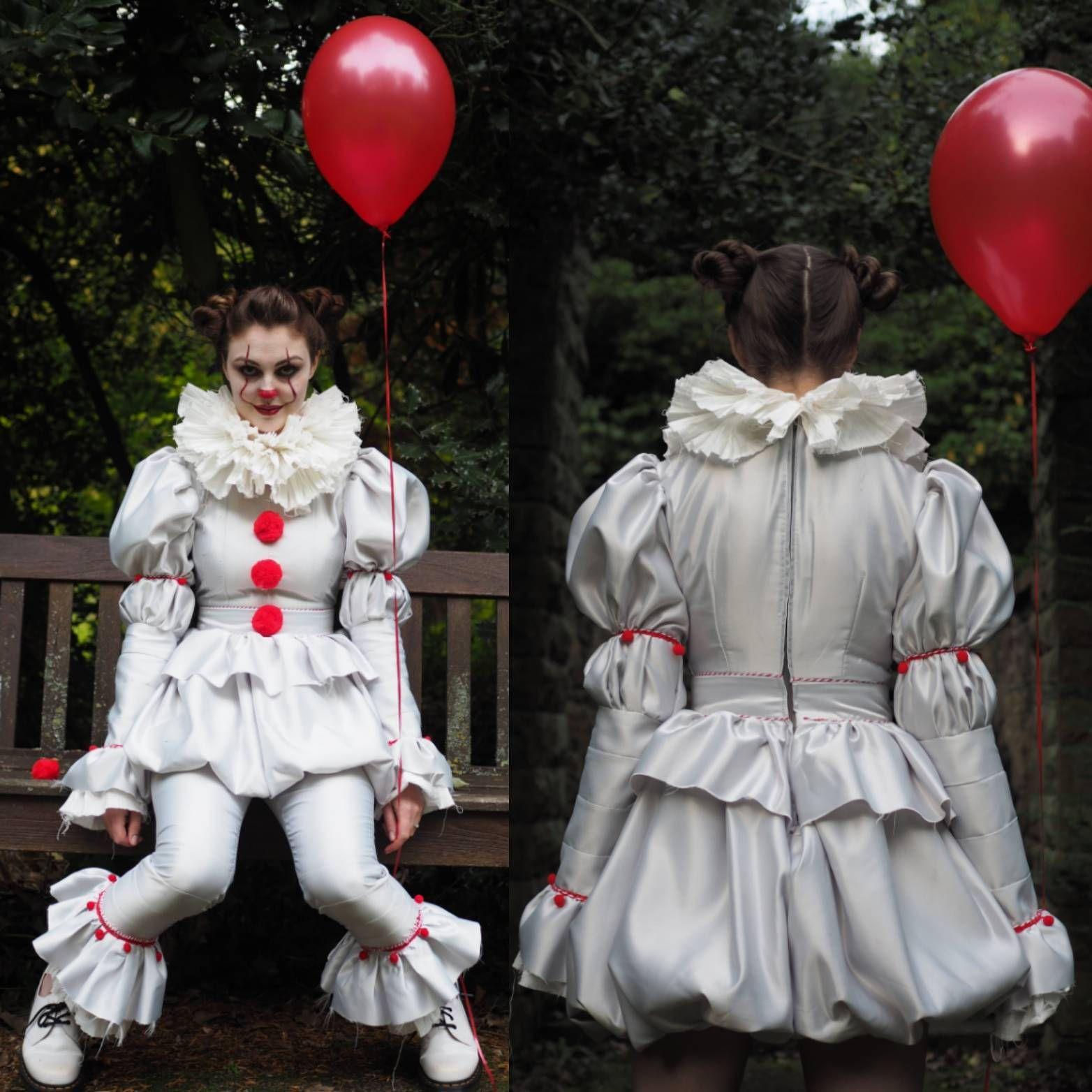 Keptalalat A Kovetkezore Pennywise Clown Costume Pattern