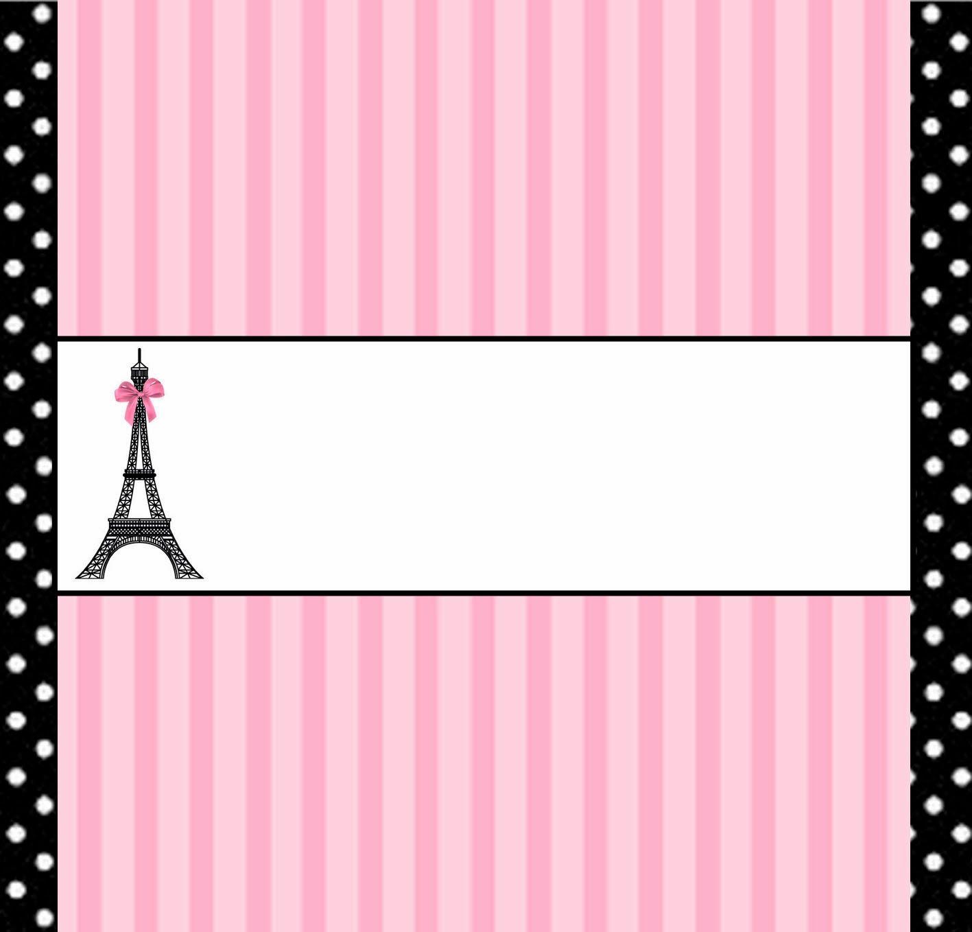 Paris: Free Printable Candy Bar Labels. | Kaila\'s Birthday ...
