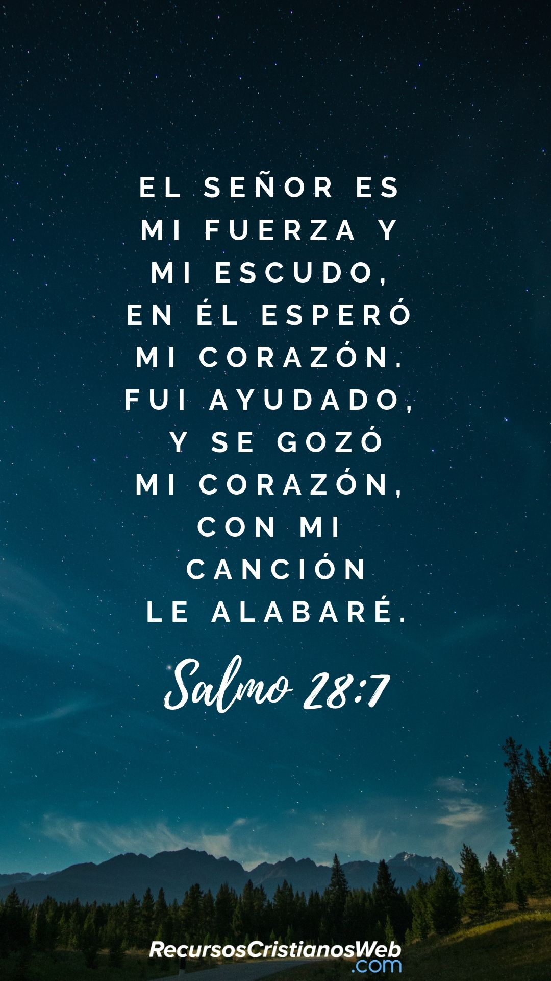Versiculos De La Biblia De Animo: Jehová Es Mi Fortaleza Y Mi Escudo; En él Confió Mi