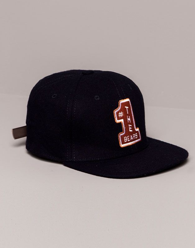 29daf17f196ab Pull Bear - hombre - gorros y sombreros - gorra número - marino -  09830526-I2014