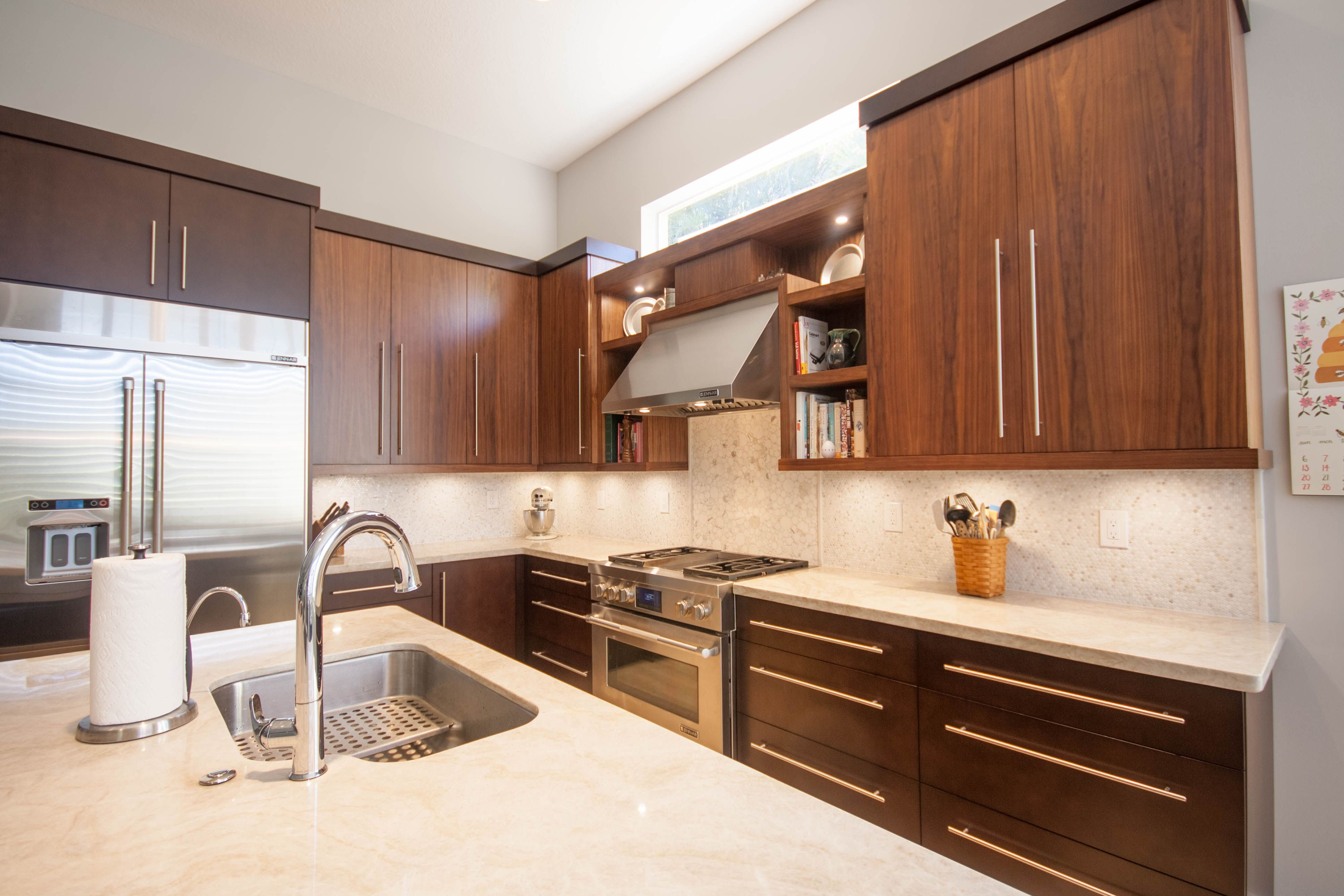 Contemporary Kitchen All Units Are Custom Designed And Manufactured To Fit Your Space C A C Custom Artisan Cabi Contemporary Kitchen Kitchen Kitchen And Bath