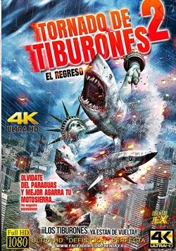 Ver Pelicula Tornado De Tiburones 2 Online Latino 2014 Gratis Vk