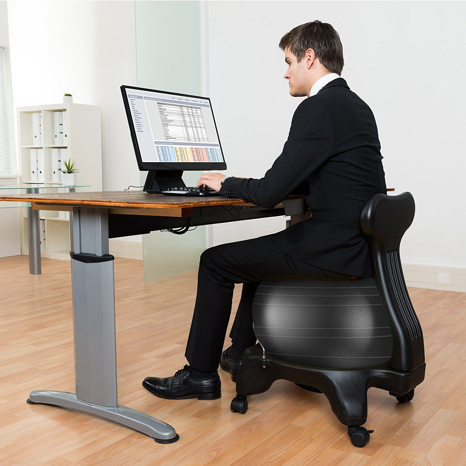 Best Balance Ball Chairs For Home Office Yoga Stability And Fitness Balance Ball Chair Ball Chair Exercise Ball Chairs
