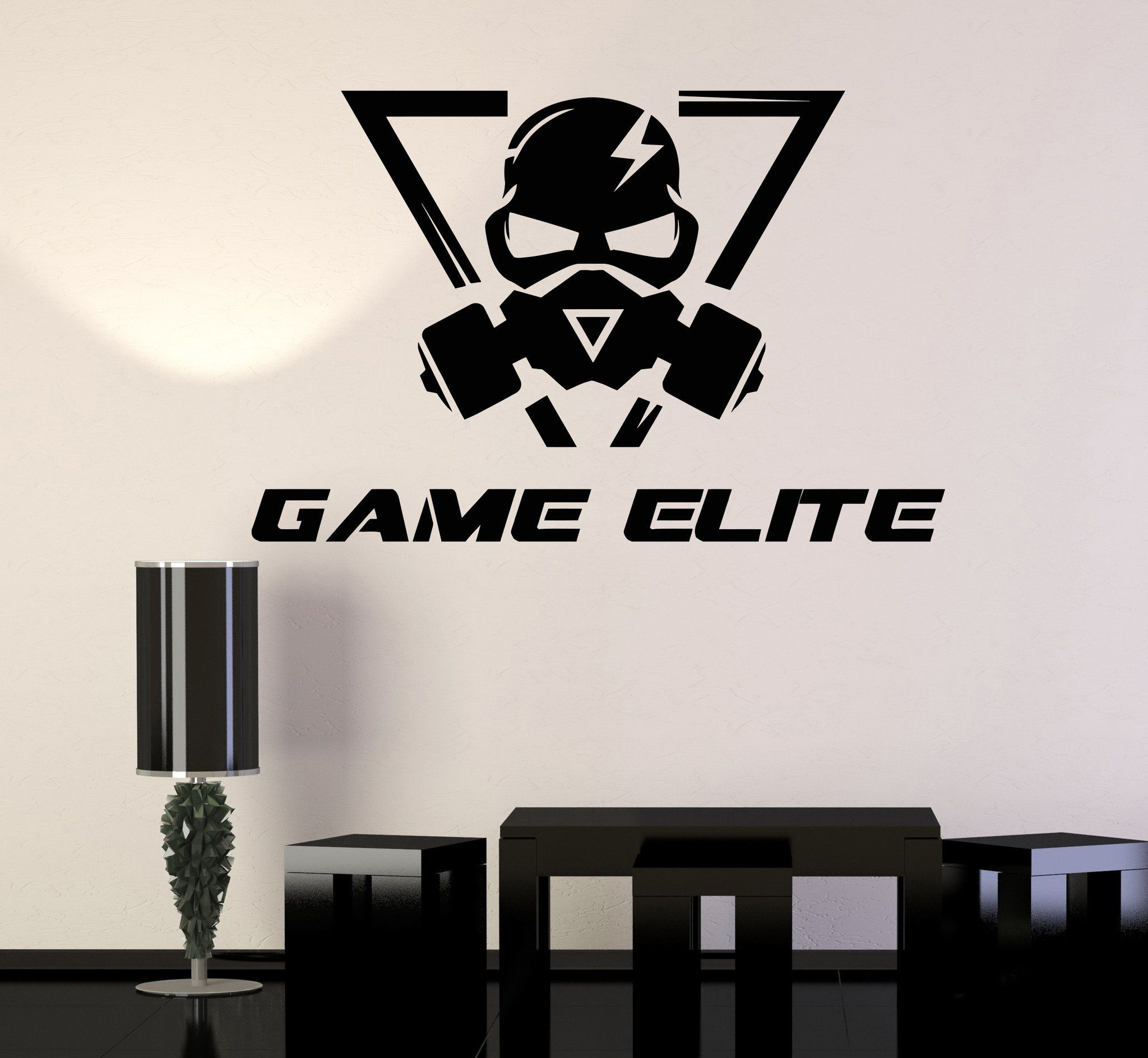 Vinyl Wall Decal Elite Video Gaming Stickers Room Unique Gift Ig3708