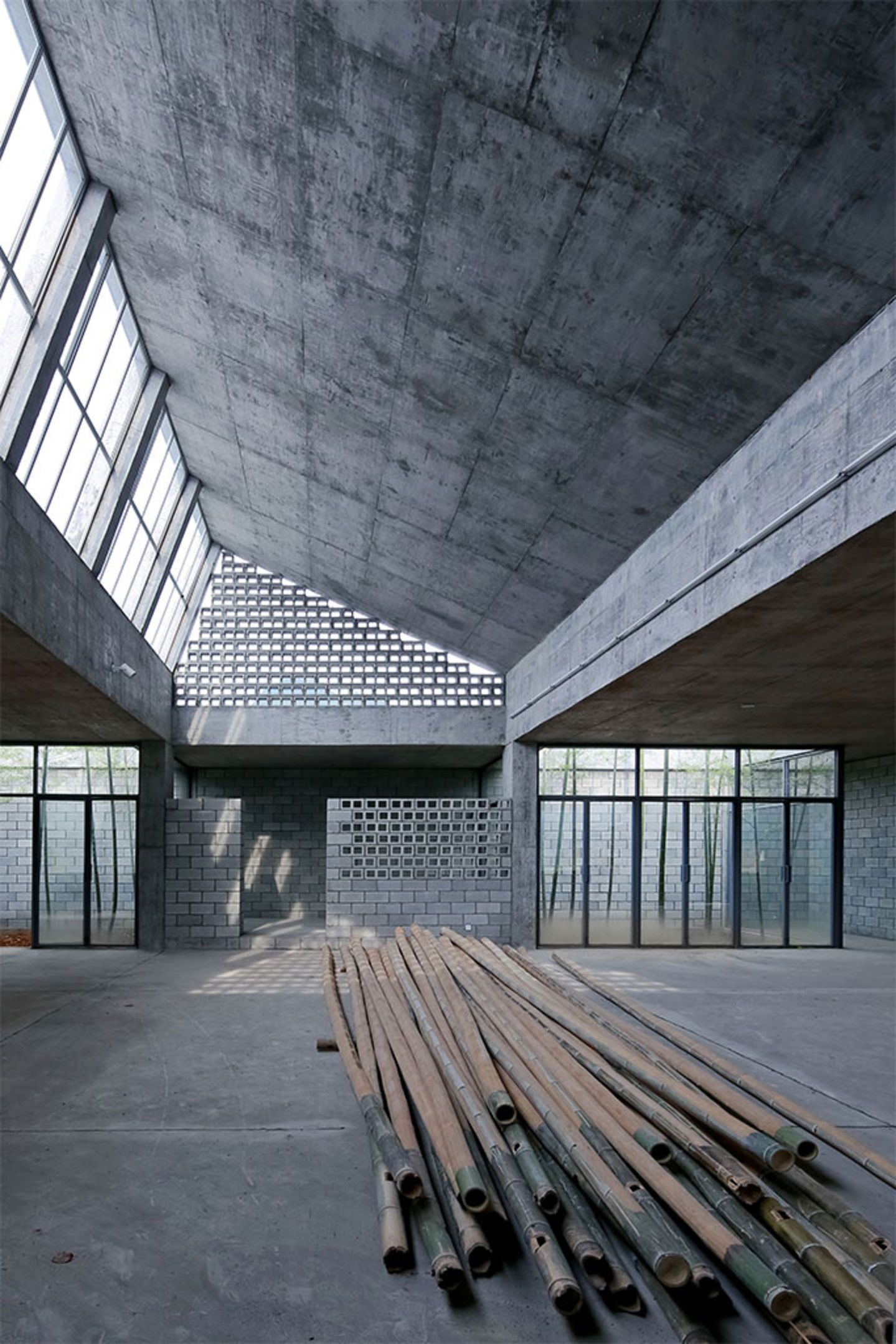 Tao Trace Architecture Office Wuyishan Bamboo Raft Factory